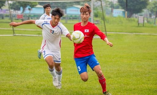 台韓球員同場競技