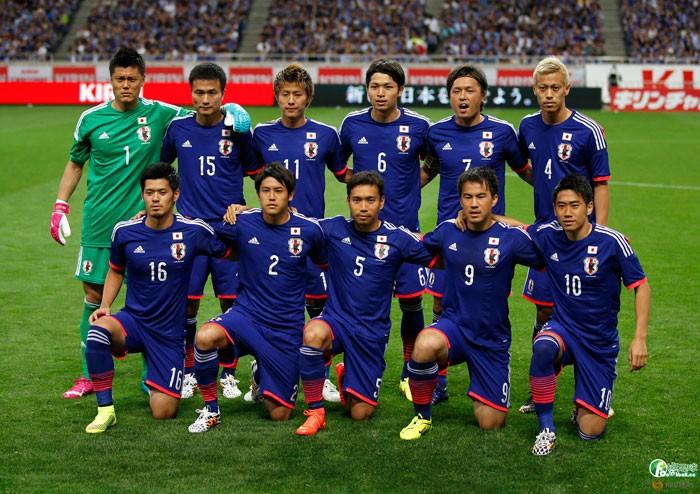 2014世界盃日本隊