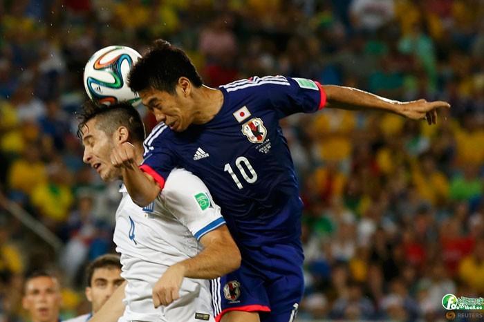 日本vs希臘