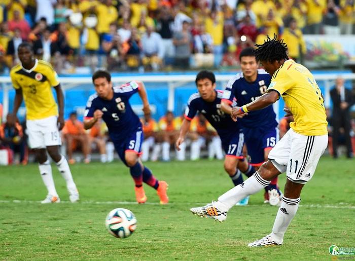 日本VS哥倫比亞