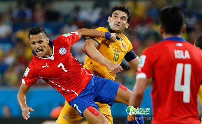 澳洲VS智利
