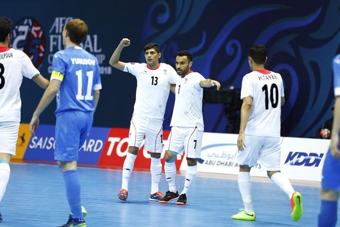 五人制錦標賽 日本伊朗晉級 雙雄會師決賽3